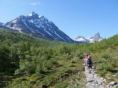 Onroute to the Romsdaleggen Ridge