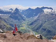 Romsdalsalpene, Norway.