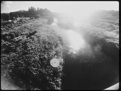 Shining river (U-ichiro1003) Tags: street snap iphonese hipstamatic wide lens