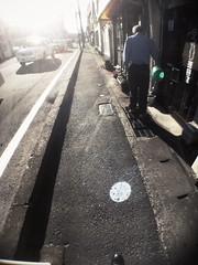 Working in the sunshine (U-ichiro1003) Tags: street snap iphonese hipstamatic wide lens