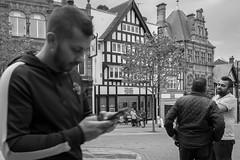 Market Place (IWCharters) Tags: mono england street wigan lancashire