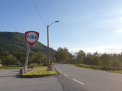 If you need petrol, Fina in Mittet has some.
