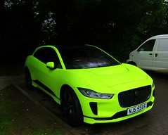 ' Day-Glo ' 2019 Jaguar I-Pace (NOT to go un-noticed) (John(cardwellpix)) Tags: day glo 2019 jaguar i pace