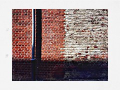 ...............by the gas works wall.................? (RadarO´Reilly) Tags: wand wall rohr tube pipe alt old dortmund zechezollern nrw germany hipsta hipstamatic lowy love81 bream ziegel brick iphone