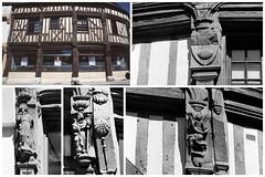 Maison à pans de bois (XVe s.) - Brou (Philippe_28) Tags: brou 28 eureetloir france europe halftimbered house colombage pansdebois