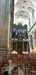 Saint Sulpice in Paris (Yoav Lerman) Tags: paris lerman פריז לרמן saint sulpice church כנסייה