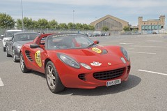 Lotus Elise (John McCulloch Fast Cars) Tags: lotus elise red v15orx