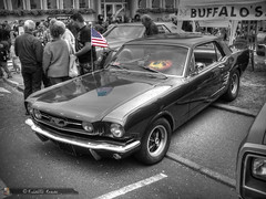BUFFALO'S (Ford Mustang Coupé 1966) (Frédéric Romac) Tags: buffalos ford mustang coupé 1966 lorraine voiture américaine