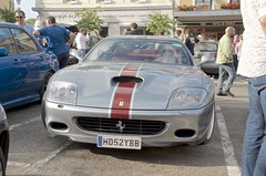 Ferrari 550 Coupe (John McCulloch Fast Cars) Tags: ferrari 550 coupe silver hd52ybb