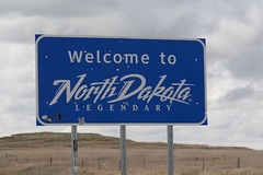 Welcome to North Dakota!!! (Hazboy) Tags: park usa west us teddy north roosevelt national western april dakota theodore 2019 hazboy hazboy1 america sign state border frontier