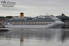 Costa - Costa Favolosa - Stavanger Harbour - 2019.06.12 (Pål Leiren) Tags: cruise ships cruiseships stavangerharbour stavanger harbour norway 2019 cruiseship vessel ship costa costafavolosa crociere costacrociere