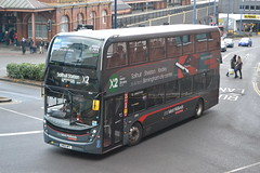 National Express West Midlands (Will Swain) Tags: birmingham 15th january 2019 west midland midlands city centre bus buses transport travel uk britain vehicle vehicles county country england english nxwm nx