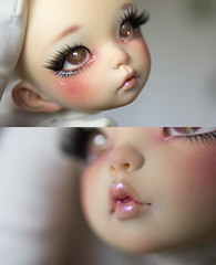 [Commission] Little Fée (koalakrashdolls) Tags: bjd bjdoll abjd koalakrash koala krash makeup balljointeddoll ball joint doll dolls toy painting fairyland littlefee littlefée