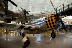 "Republic P-47 Thunderbolt (""Jug""), National Air and Space Museum, Steven F. Udvar-Hazy Center, Chantilly, Virginia (Roger Gerbig) Tags: nationalairandspacemuseum smithsonian stevenfudvarhazycenter aviation museum rogergerbig chantilly virginia dulles republicp47thunderbolt jug"