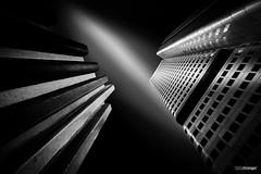 Argentum (dark version) (Holger Glaab) Tags: frankfurt frankfurtammain silvertower silberturm architecture city urban building skyscraper fineart longexposure bnw blackandwhite monochrome