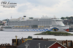 AIDA Cruises - AIDAPerla - Stavanger Harbour - 2019.06.13 (Pål Leiren) Tags: cruise ships cruiseships stavangerharbour stavanger harbour norway 2019 cruiseship vessel ship aidacruises aidaperla aida cruises