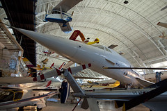 Concorde, National Air and Space Museum, Steven F. Udvar-Hazy Center, Chantilly, Virginia (Roger Gerbig) Tags: nationalairandspacemuseum smithsonian stevenfudvarhazycenter aviation museum rogergerbig chantilly virginia dulles concorde