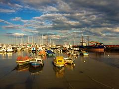 Safe Harbour (DavidHowarthAgain) Tags: bridlington yorkshire coast summer june 2019 harbour boats
