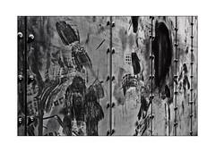 43 [titre 'Footprints'] (Armin Fuchs) Tags: arminfuchs lavillelaplusdangereuse würzburg anonymousvisitor thomaslistl wolfiwolf jazzinbaggies wayneshorter wall footprints 35mm challenge