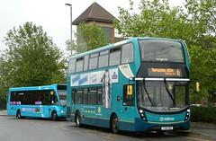 Arriva Midlands (4529) ADL Enviro400 MMC - YX16 OKH (J.J.Pay 4615) Tags: yx16okh bus uk 6 transport midlands thurmaston arriva enviro400 mmc alexander dennis