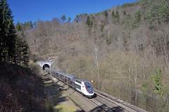 TGV 9551 @ Neidenfels (Wesley van Drongelen) Tags: sncf société societe nationale chemins fer français francais tgv grande vitesse baureihe série serie br reihe rh class type reeks d tgvd duplex tgv2n2 2n2 rgv 2n euroduplex 3uf dasye neidenfels trein train zug