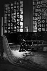 faith & devotion [2] (frax[be]) Tags: atmosphere church composition lightshadows fuji 16mm mystical indoor monochrome noiretblanc highcontrast blackandwhite bw blackwhitephotos
