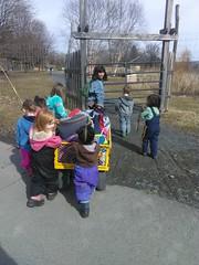 IMG_20190314_111907 (Ithaca Children's Garden) Tags: playful nature preschool waterfront wagon walk doga