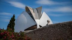Ufo landing? (fredrik.gattan) Tags: architecture valencia spain wall building sky clouds modern ufo design opera house