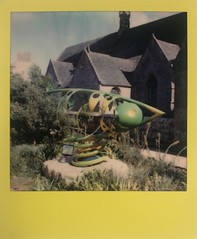 La crevette (ifleming) Tags: sx70600 600colourfilm polaroidoriginals finistere bretagne roscoff lacrevette
