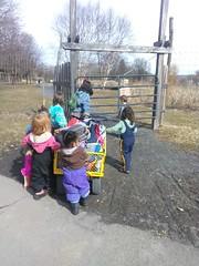 IMG_20190314_111910 (Ithaca Children's Garden) Tags: playful nature preschool doga waterfront wagon walk