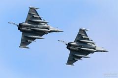 143 / 30-GV & 140 / 7-GS French Air Force Dassault Rafale C, EFTU, Finland (Sebastian Viinikainen.) Tags: 143 30gv 7gs dassault rafale franceairforce eftu finland turkuairshow2019 military airshow