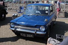 Hillman Imp Super KYD861K (Andrew 2.8i) Tags: classics meet show cars car classic weston westonsupermare british saloon sedan rootesgroup super imp hillman