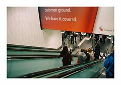 . (Ulrich Hilger) Tags: leicasummilux35mmf14 35lux leicam6 m6 film onfilm kodakportra800 bahn rail öpnv publictransport rolltreppe untergrund underground