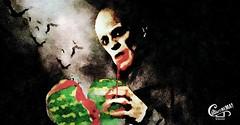 Ceau Nosferatu! (wakax) Tags: movie horror poster nosferatu nosefartu watermelon thirst blood juice vampire summer film