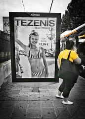 No importa qué talla usas, sino como la usas. (Elena m.d. +10.3 Millions views.) Tags: street yelow 2019 nikon tokina1116 guadalajara