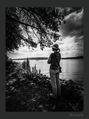 Serenity (horstdoehler) Tags: lake constance serenity model young woman
