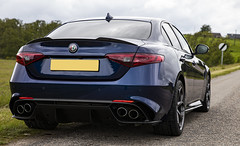 2018 Alfa Romeo Giulia Quadrifoglio (duncan_ireland) Tags: 2018 alfa romeo alfaromeo giulia quadrifoglio giuliaquadrifoglio 2018alfaromeogiuliaquadrifoglio montecarlo blue montecarloblue darkblue metallic