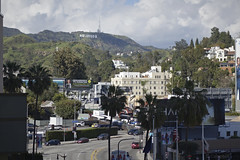 day 17. Hollywood blvd and museum 92 (Dave S Campbell) Tags: hollywood california car blvd boulevard ruby slippers wizard oz v movie burt reynolds theatre chinese sign lambrghini props masks delorean batman