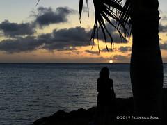 Carib Sunset (© Freddie) Tags: aruba oranjestad sunset clouds fjroll ©freddie