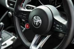 2018 Alfa Romeo Giulia Quadrifoglio - Stop/Start (duncan_ireland) Tags: blue metallic montecarlo alfa romeo alfaromeo giulia darkblue 2018 quadrifoglio montecarloblue giuliaquadrifoglio 2018alfaromeogiuliaquadrifoglio start button startbutton