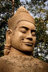 Statue, Angkor Wat, Cambodia (pas le matin) Tags: travel voyage world cambodge cambodia statue sculpture buddha bouddha doudha duddhism religion angkorwat angkorvat angkor canon 7d canon7d canoneos7d eos7d stone pierre asia asie southeastasia
