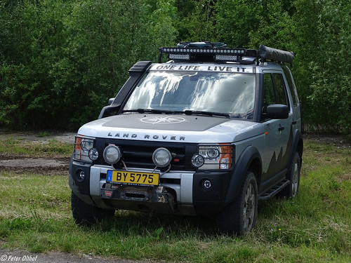 Land Rover Defender from Luxemburg
