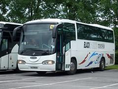 Black & White Coaches (Hesterjenna Photography) Tags: wji8928 ef53oxf oxford citybus scania irizar blackandwhite scunthorpe lincolnshire northlincolnshire coach psv bus
