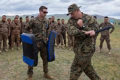 "Mongolians train in Marine Corps martial arts (#PACOM) Tags: training pacific martialarts security mongolia unitednations marines peacekeeping maf ulaanbaatar indopacific kq19 khaanquest militarypartnership mongoliaarmedforces usindopacificcommand ""usindopacom"