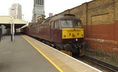 47245 Vauxhall (localet63) Tags: class47 47245 1z82 westcoastrailways vauxhall railtour steamdreams royalwindsorsteamexpress