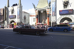 day 17. Hollywood blvd and museum 66 (Dave S Campbell) Tags: hollywood california car blvd boulevard ruby slippers wizard oz v movie burt reynolds theatre chinese sign lambrghini props masks delorean batman