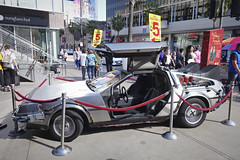 day 17. Hollywood blvd and museum 75 (Dave S Campbell) Tags: hollywood california car blvd boulevard ruby slippers wizard oz v movie burt reynolds theatre chinese sign lambrghini props masks delorean batman