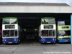 Depot Scenes (18) (Cymru Coastliner) Tags: nottsderby leylandolympian ecw alexander 14 k894csf 17 c717lto 13 k883csf 12 b712hvo bus derby meadowroaddepot wellglade