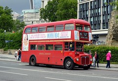 RM2071 ALM71B (PD3.) Tags: london bus buses england uk sight seeing sightseeing tower hill stagecoach aec routemaster rm2071 rm 2071 alm71b alm 71b
