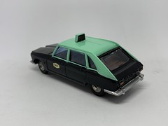 Metosul Portugal - Renault 16 Taxi - Miniature Diecast Metal Scale Model Public Service Vehicle (firehouse.ie) Tags: portugal taxi renault r16 metosul metal miniatures miniature model models car cars taxis coche hackney coches psv hackneys